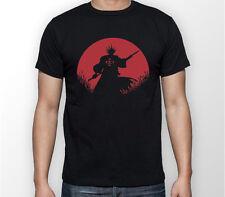 Zaraki Kenpachi Red Moon Bleach Anime Unisex Tshirt T-Shirt Tee ALL SIZES