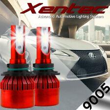 9005 H10 HB3 COB LED Headlight Conversion Kit Bulb 388W 76000 Lumen 6000k White