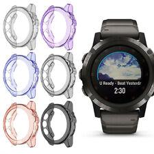 Soft Ultra-Slim Crystal Clear TPU Protector Case Cover For Garmin Fenix 5X Watch