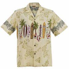 Big and Tall Maui Surfboard Hawaiian Aloha Shirt