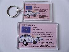 HERBIE VW CAR LOVE BUG Keyring or Fridge Magnet GIFT PRESENT IDEA
