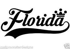 Florida... Vinyl Wall Art Quote Decor Words Decals Sticker