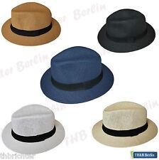 Panamahut Strandhut Hut Panama Hat Klassisch Urlaubshut Sommerhut Erntehut Hüte