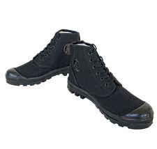 Dafna Scout ( Palladium ) - Black Israeli Commando Canvas boots