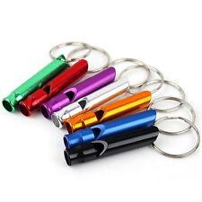 Hundepfeife Schlüsselanhänger aus Metall in verschiedene Farben