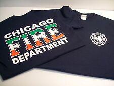 Chicago Fire Department Irish Flag Shirt