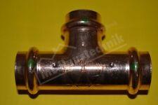 Viega Profi-Press T-Stück SC 12-15-18-22-28-35-42-54 Kupfer Fitting Kupferrohr