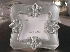 1 Fleur De Lis Frame wedding Favor place card holder