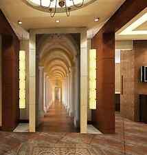 3D corridoio 45 Parete Murale Foto Carta da parati immagine sfondo muro stampa