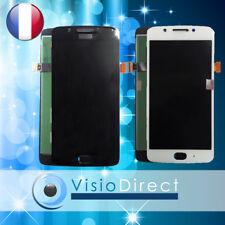 """Ecran complet pour Motorola Moto G5 5"""" blanc noir vitre tactile + écran LCD"""