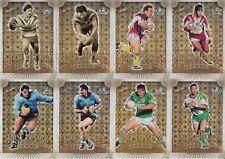 2008 NRL CENTENARY PAST HEROES TRADING CARDS - LYONS, RENOUF, HARRAGON, VAUTIN
