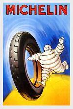 Michelin Tire Car Strong Rubber Automobile Pneus Vintage Poster Repro FREE S/H