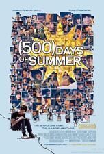 500 days of summer movie poster affiche film A4 A3 art print cinema