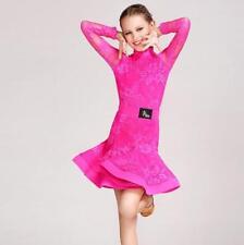 2019 NEW Childrens Latin Salsa Ballroom Dance Dress Girls Dancewear HOT R316