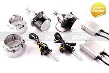 DDM Bi-Xenon Retrofit H1 Projectors V2,2.5in,W/Ultra Canbus 35W Kit,W/Shrouds