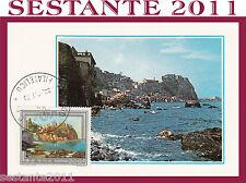 ITALIA MAXIMUM MAXI CARD 1979 SCILLA PANORAMA (236)