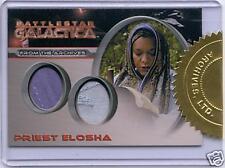 BATTLESTAR GALACTICA SEASON 2 DC2 ELOSHA COSTUME CARD