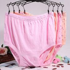 4 Pcs Lady Briefs Loose Lingerie Cotton Underpants Shorts Underwear Color Random