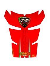 DUCATI 848 EVO 1098 1198 Depósito Gasolina Protector Rojo Italia