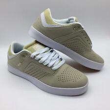 """Osiris Men/Women's Shoes ''Techniq VLC"""" Tan/White"""