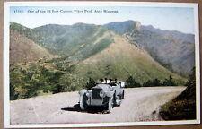 *1920's Pikes Peak Auto Highway Co~ Auto Touring ~