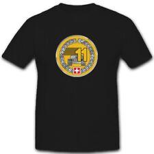 Wappen PzBat 11 Schweizer Armee Militär Einheit Abzeichen 11- T Shirt #3704