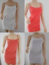 TOPSHOP Ladies Skinny Strap Essential Vest Top Size 6 8 10 12 14 16 FREE P&P NEW