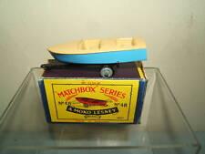 "MATCHBOX MOKO LESNEY MODEL No..48a   "" METEOR BOAT & TRAILER ""   MIB"