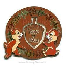 Disney Signature Collection Chip & Dale Acorn Jumbo Pin