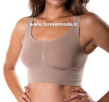 Reggiseno donna C&C sport, microfibra senza cuciture, riduce 1 taglia art C0400