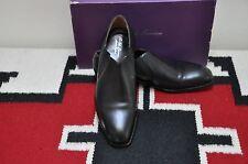 Ralph Lauren Purple Label Edward Green Eden Black Dress Loafer Shoes
