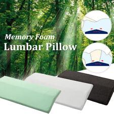 2018 Memory Foam Triangle Sleeping Lumbar Pillow Waist Back Support Cushion Pad