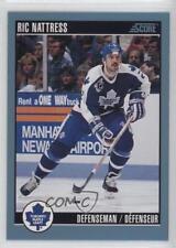 1992-93 Score Canadian #344 Ric Nattress Toronto Maple Leafs Hockey Card