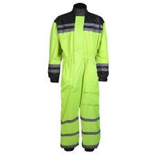 Hi-Vis Waterproof Motorcycle / Motorbike Rain Over Suit Sizes M-5XL