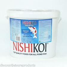 Nishikoi GROWTH Koi Pond Fish Food Floating Pellet 350/650/1125/2.5/5/10KG