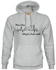 RAUHAARDACKEL SWEATSHIRT HEARTBEAT EKG by SIVIWONDER