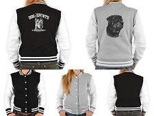 Damen College Jacke - Rottweiler Motiv - Dobermann Motiv - Hunderassen Jacke