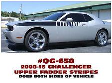 QG-658 2008-16 DODGE CHALLENGER - UPPER FADER STRIPE - DECAL KIT