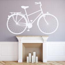 Klasyczny rower na pedały Retro Rower Naklejka Na ścianę WS-18340