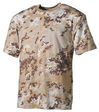 T-Shirt vegetato desert, tarn, Armee Shirt MFH Max Fuchs 170g/m2