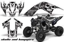 AMR RACING GRAPHIC ATV WRAP OFF ROAD DECAL STICKER KIT YAMAHA RAPTOR 700 SAHW