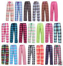 PEACHES Pick Size S-2XL Fashion Flannel Cotton Lounge Pants Team Sports No Fly