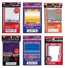 KMC Sleeves Standard Format Metallic Gold Hüllen Pokemon Magic Perfect Size