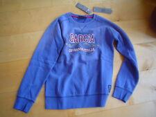 WI 12/13 - SUDADERA, azul vaquero v.GARCÍA t. 140-164