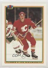 1990-91 Bowman Tiffany #91 Joe Nieuwendyk Calgary Flames Hockey Card