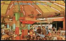 WILDWOOD NJ Sportland Pier Child on Ride Vtg Postcard