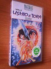 USHIO e TORA Vol 2  VHS SIGILLATA YAMATO SERIES NUOVA