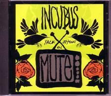 INCUBUS Talk Show On Mute RARE 1 TRK PROMO DJ CD Single