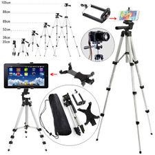 Professional Telescopic Camera Tripod Stand Phone Holder Fr iPhone Samsung Nokia