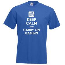 Keep Calm Y Llevar en juegos de video juego de PlayStation para Hombre Chicos T-Shirt GTA Cod